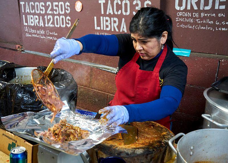 Carnitas El Momo Mexican Breakfast