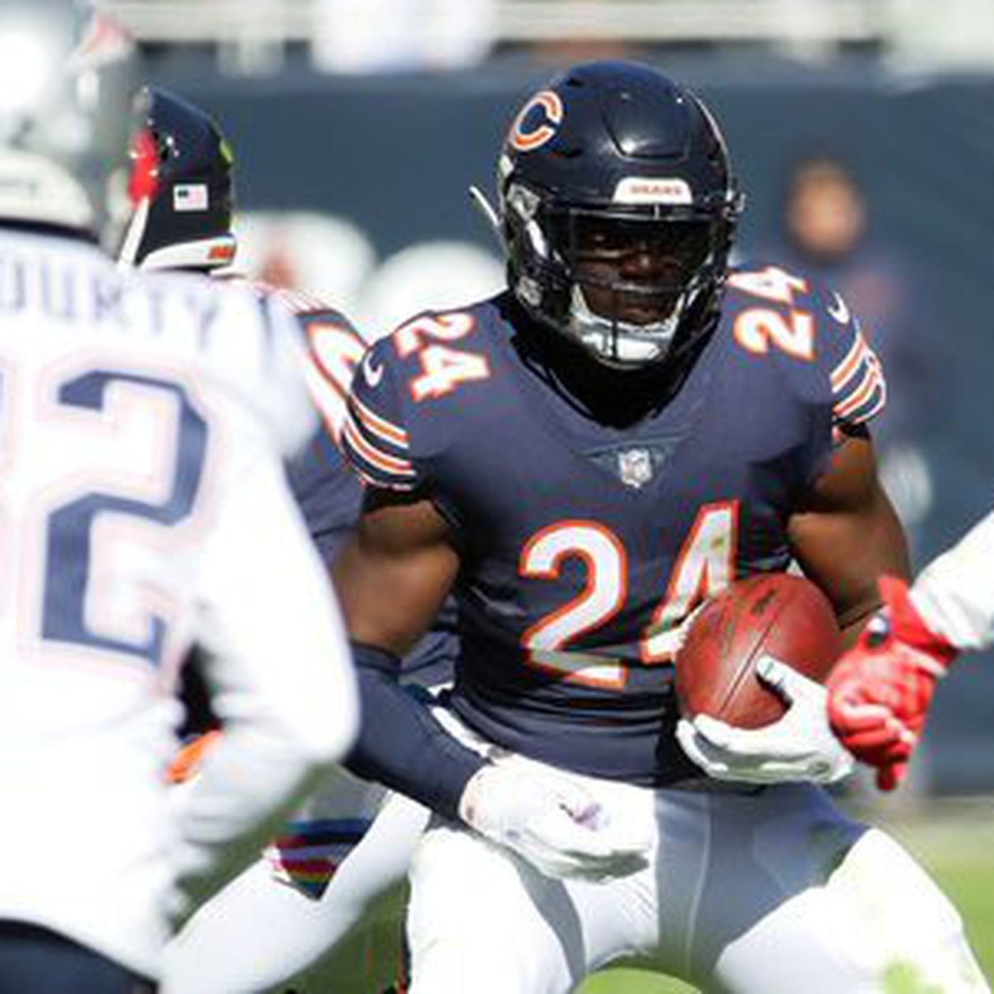 c6da10c6d8d As Bears search for run game, Jordan Howard says they 'just gotta give it  time'