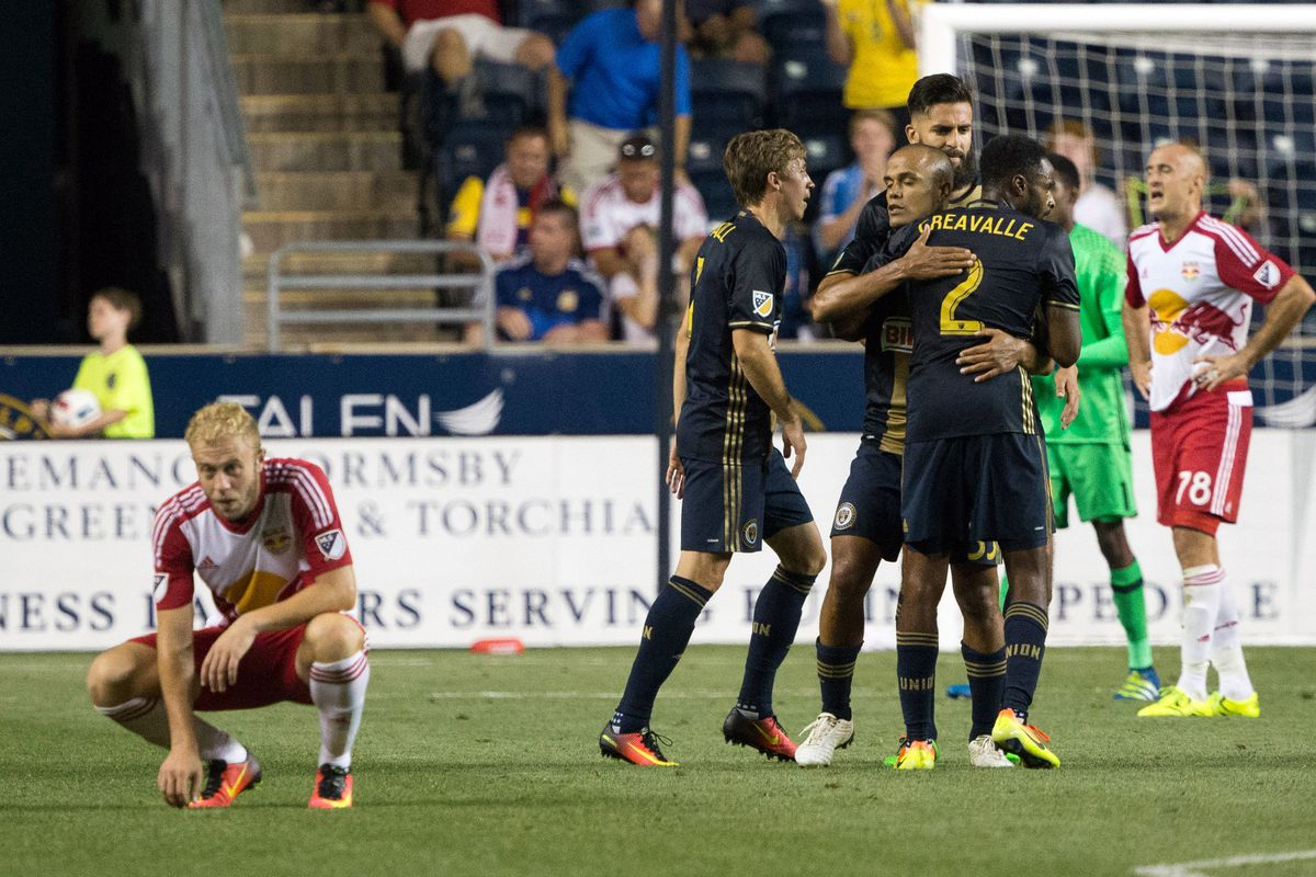 Red Bulls bounced out by Union in the US Open Cup