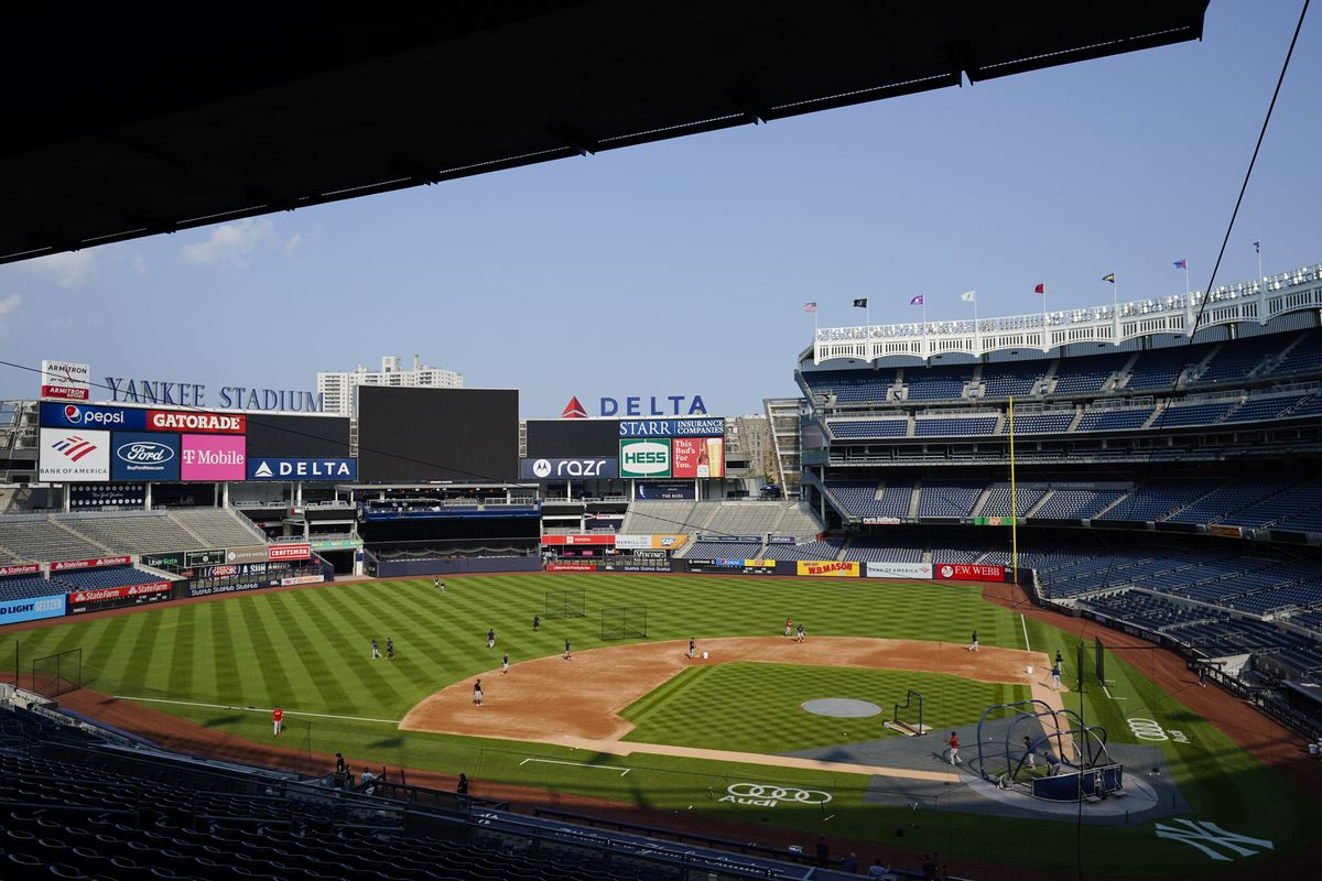 The Yankees' post-All-Star break opener against the Red Sox on Thursday night was postponed because of positive COVID-19 tests among vaccinated New York pitchers Jonathan Loaisiga, Nestor Cortes Jr. and Wandy Peralta.