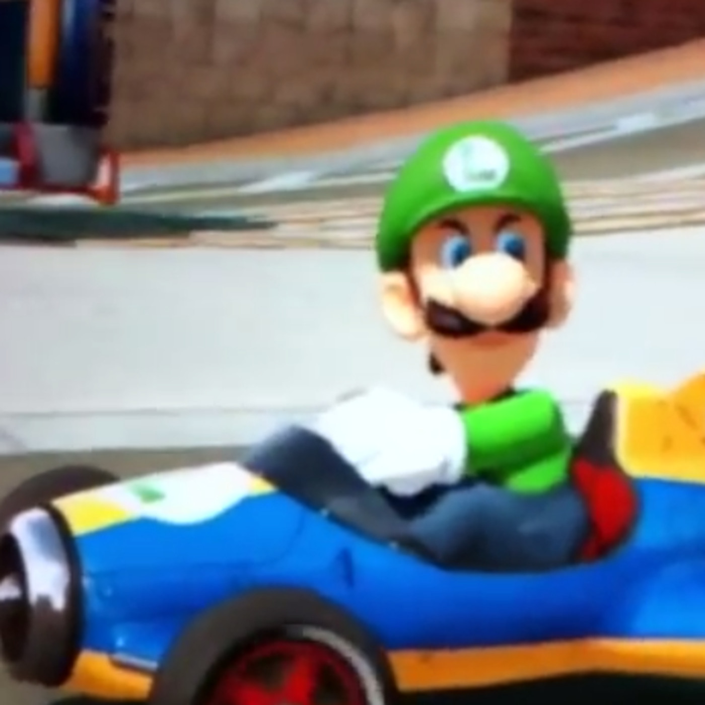 Luigi Isn T Playing Games With His Death Stare In Mario