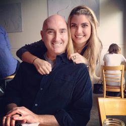 Kara Lichtenstein of Hungry in Chicago with her dad, Jim Lichtenstein. Food We Love| Provided