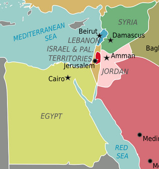 Israeli-Palestinian conflict: other Middle Eastern countries ...