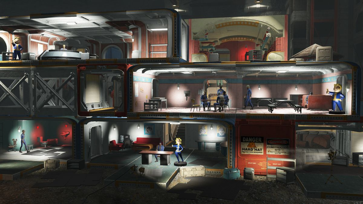 Fallout 4's newest add-on lets you build the nuclear bunker of your