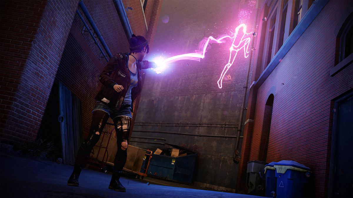 Infamous: First Light neon zap