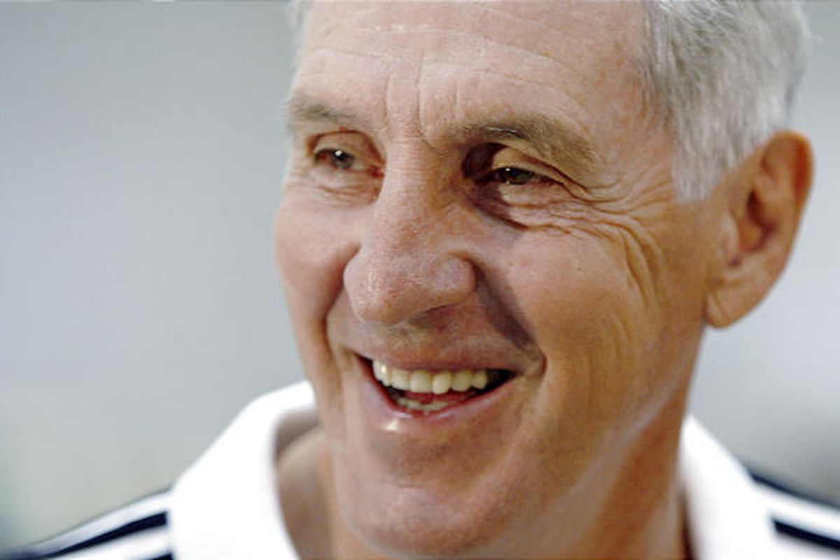 Jazz coach Jerry Sloan smiles during a recent interview. He'll be inducted into the Basketball Hall of Fame on Friday.