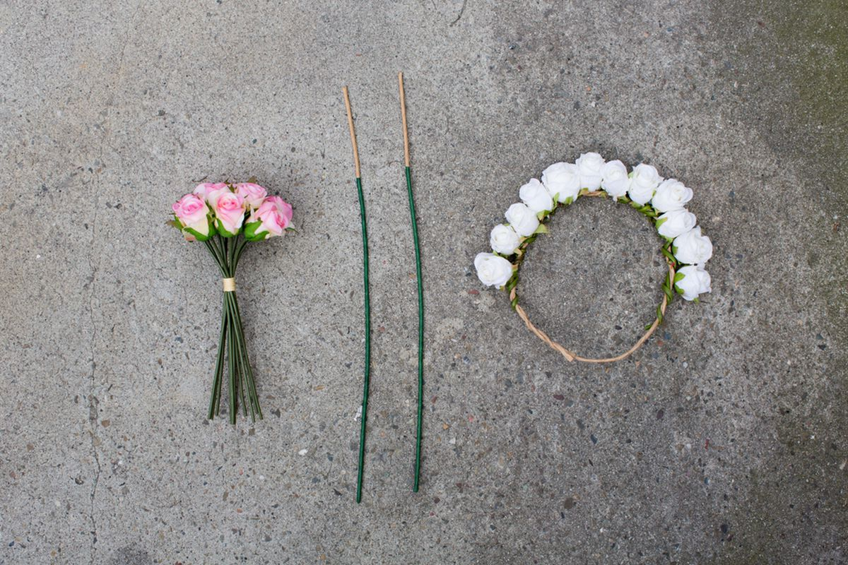 A Flower Crown Diy For The Boho Bride On A Budget Racked Sf