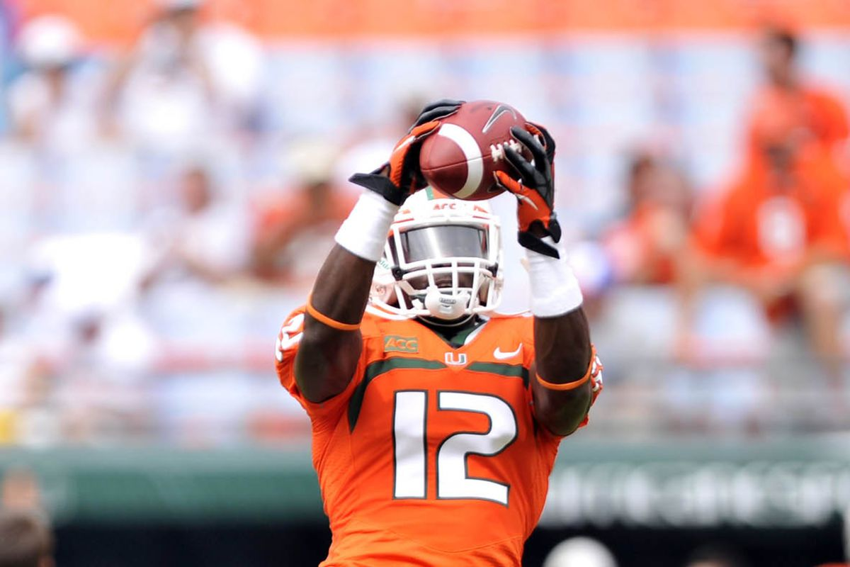 quality design a3137 7fc99 Miami Player Profile: Jamal Carter - State of The U