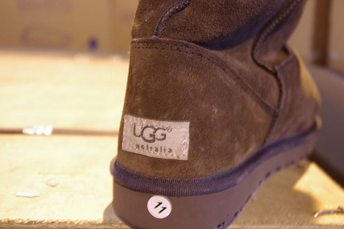 """Faux Uggs via <a href=""""http://gothamist.com/2012/03/03/fake_uggs_nikes_louis_vuitton_purse.php#photo-3"""">Gothamist</a> via the Department of Justice"""