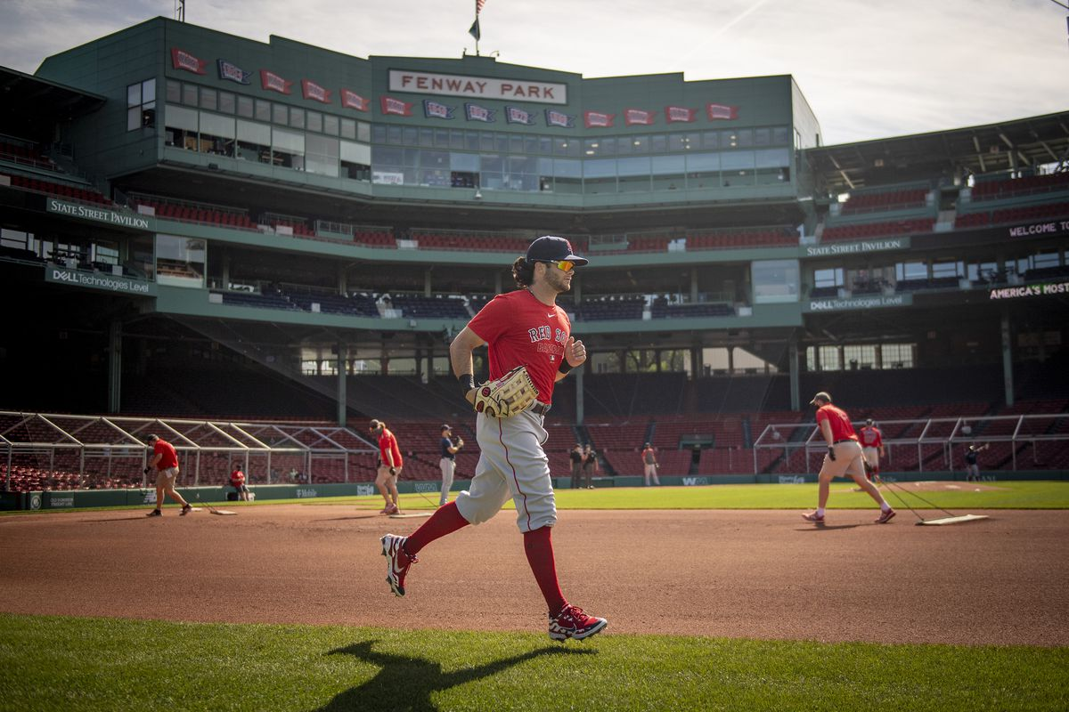 Boston Red Sox Summer Camp Workout