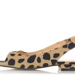 "Marais Leopard Flat, $77 (with new subscriber discount) at <a href=""http://shop.moxsie.com/marais-usa/slingback-flat-leopard.html"" rel=""nofollow"">Marais</a>"