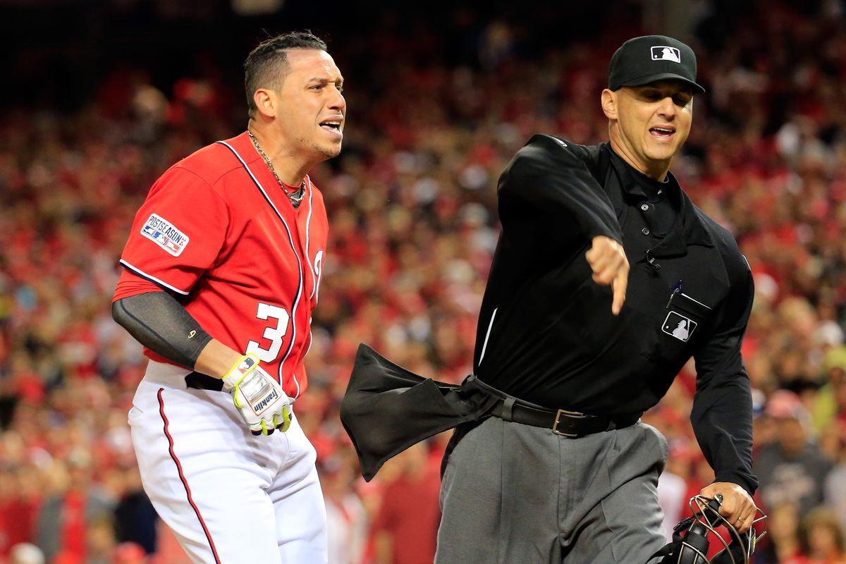 Asdrubal Cabrera played 10 of the 18 innings last night because he was ejected in the bottom of the tenth