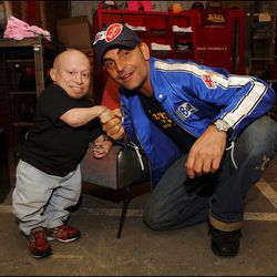 Actor Verne Troyer was a frequent visitor at the shop.