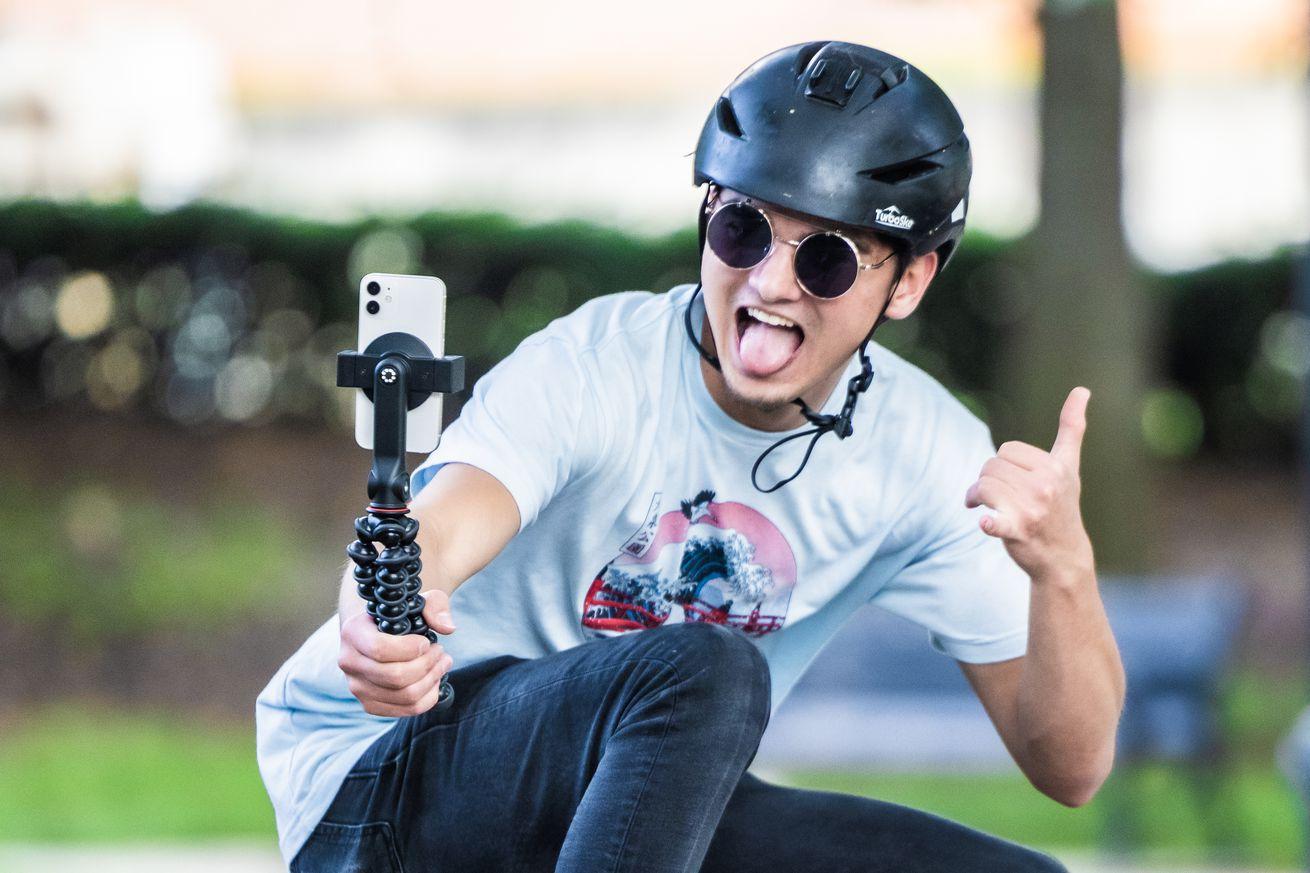 Joby GripTight tripod mount