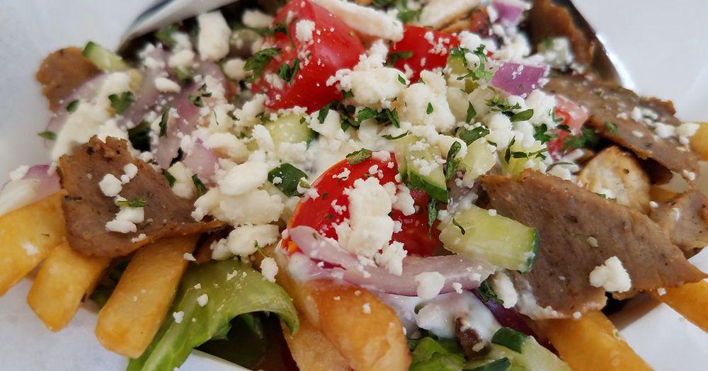 Greek Delights Food Truck Menu