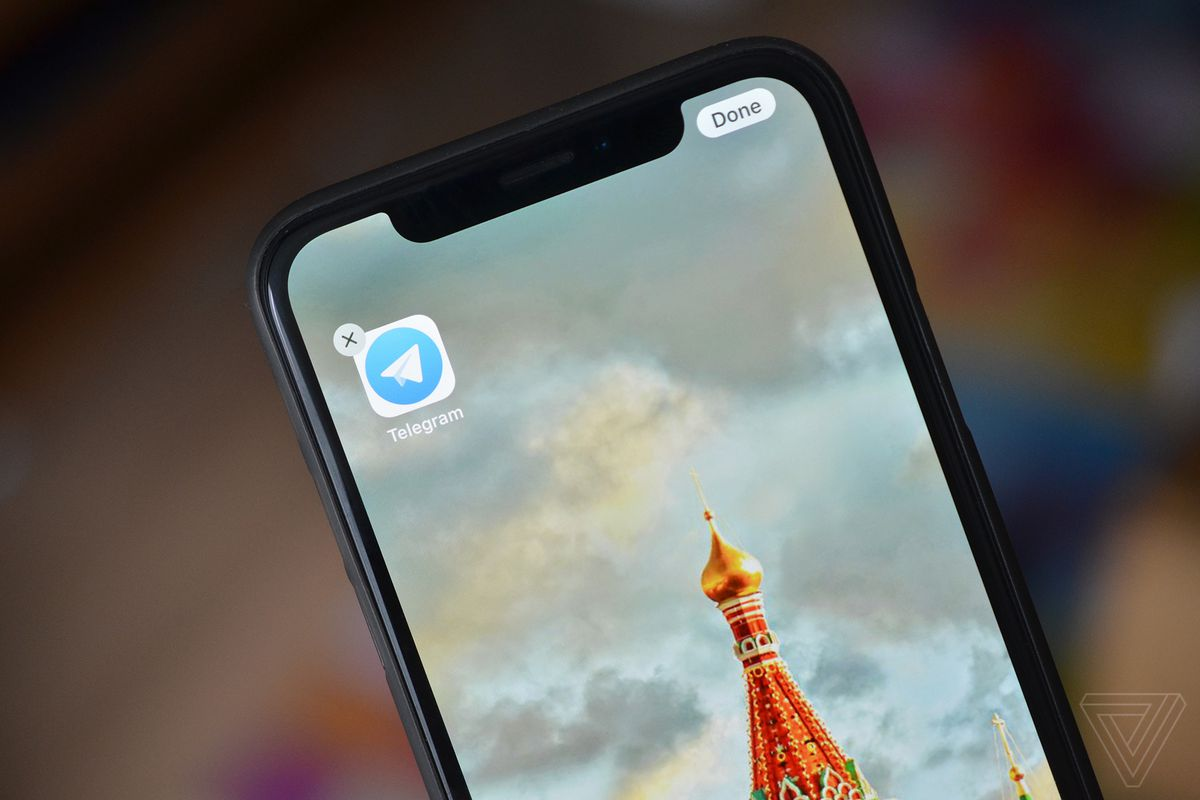 Russia orders immediate block of telegram messaging app the verge telegram photo by tom warren the verge stopboris Image collections