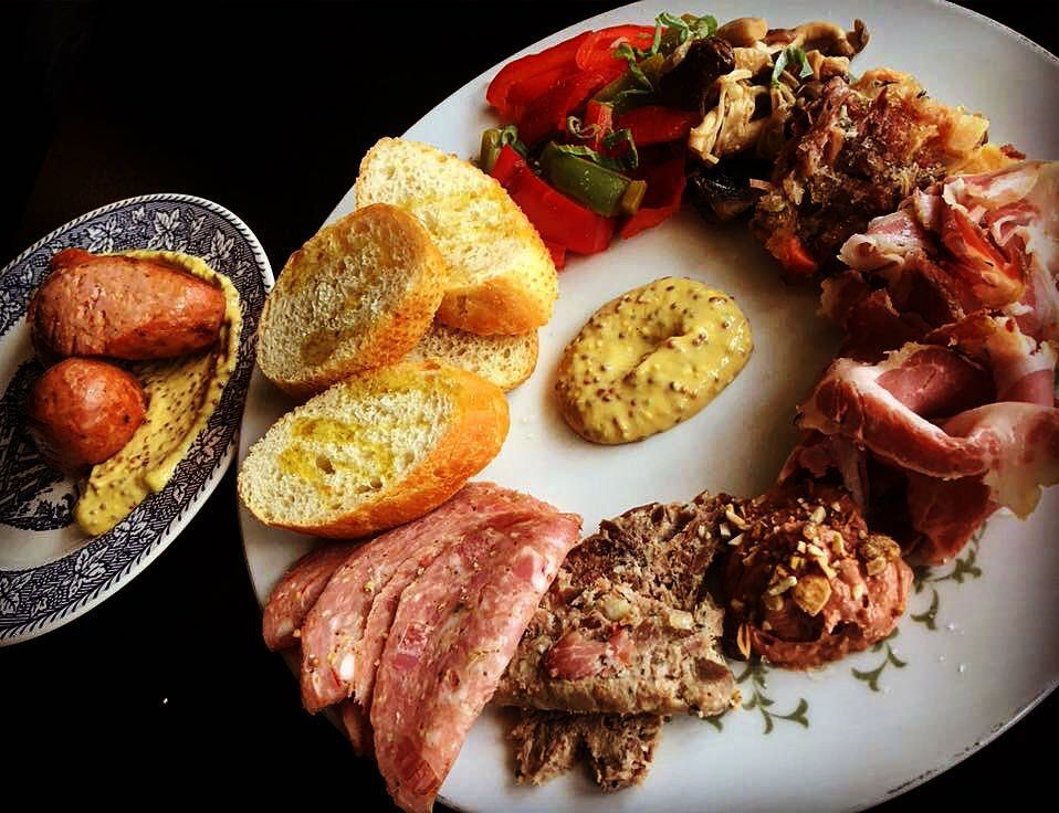 Charcuterie at Kummerspeck