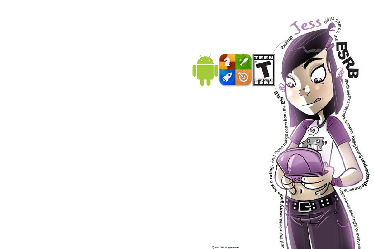 ESRB examines rating Android and iTune games.