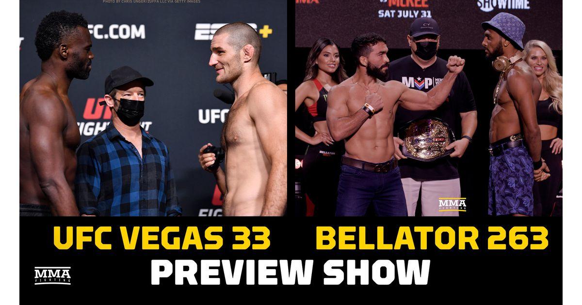 Video: Bellator 263 & UFC Vegas 33 preview show