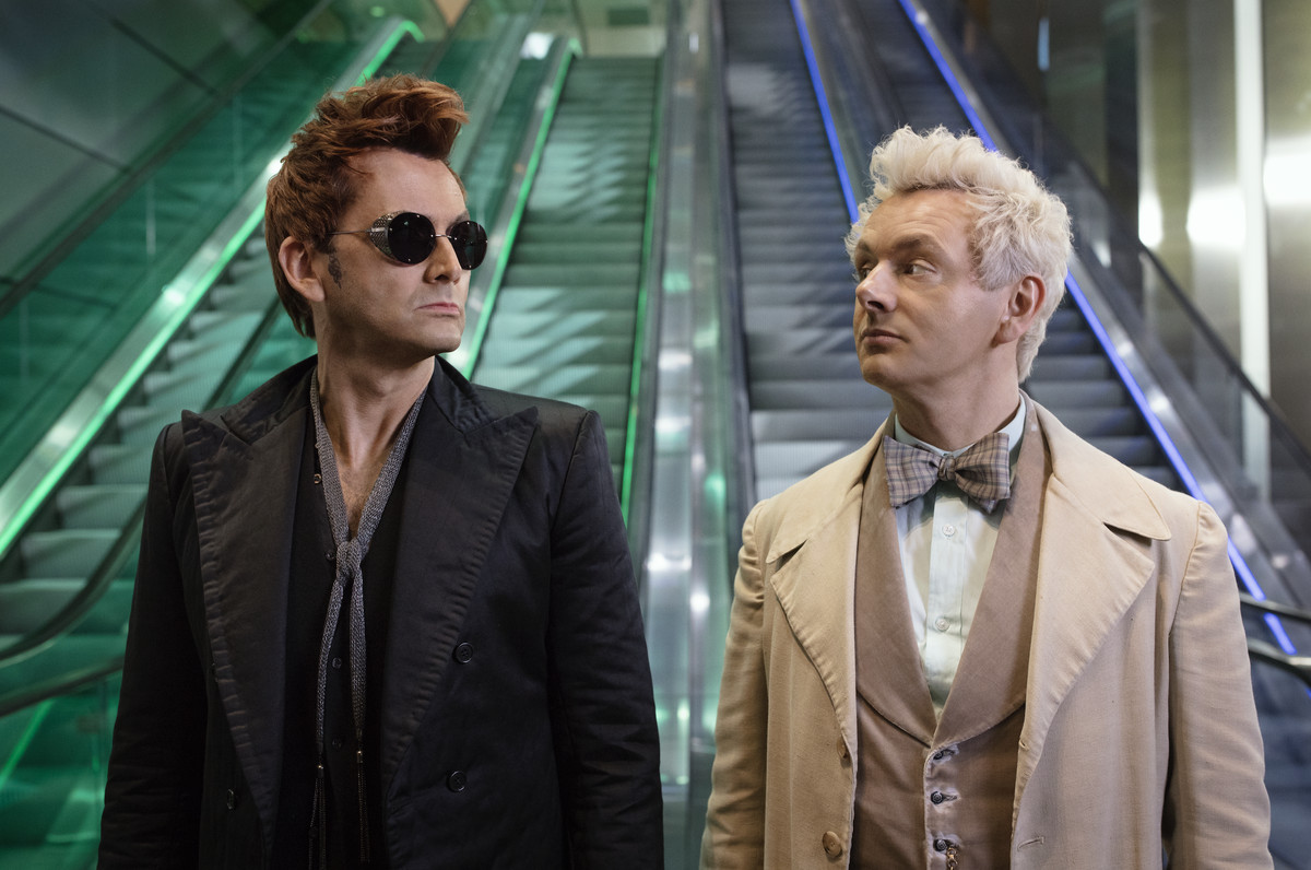 good omens - neil gaiman amazon tv series