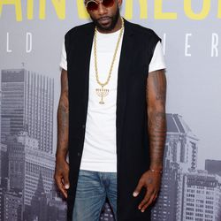 Amare Stoudemire at the New York premiere of <i>Trainwreck</i>.