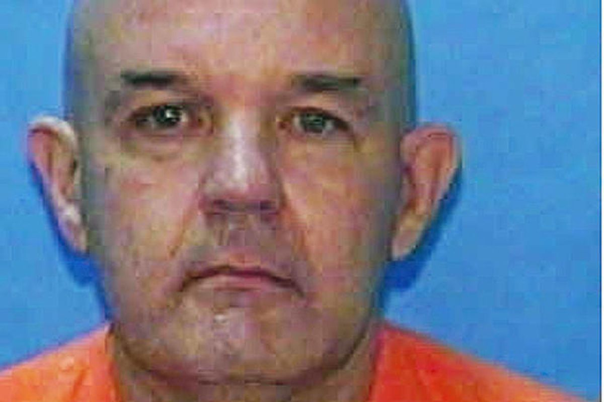 In this undated photo provided by the Florida Department of Corrections, serial killer David Alan Gore is shown. Gore is set to be executed April 12, 2012, sooner than he expected, in part because he could not stop bragging about raping and murdering four
