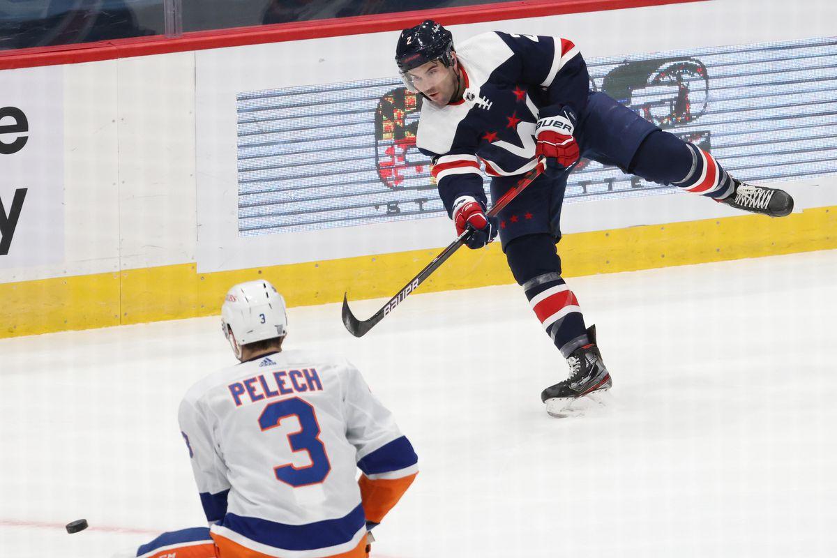 NHL: New York Islanders at Washington Capitals