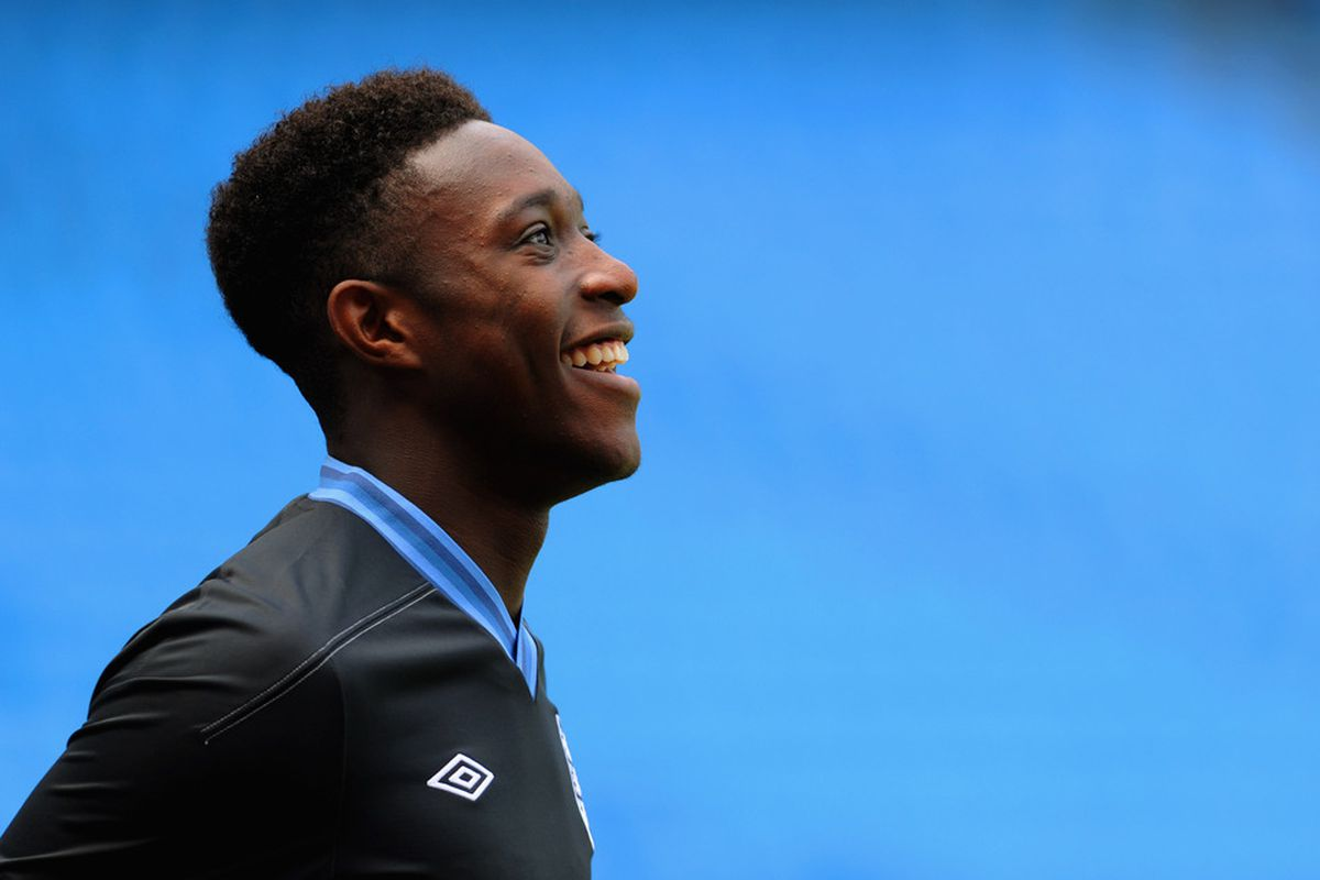On hearing the David Moyes news, Danny Wellbeck remains the pro not given away his feelings.