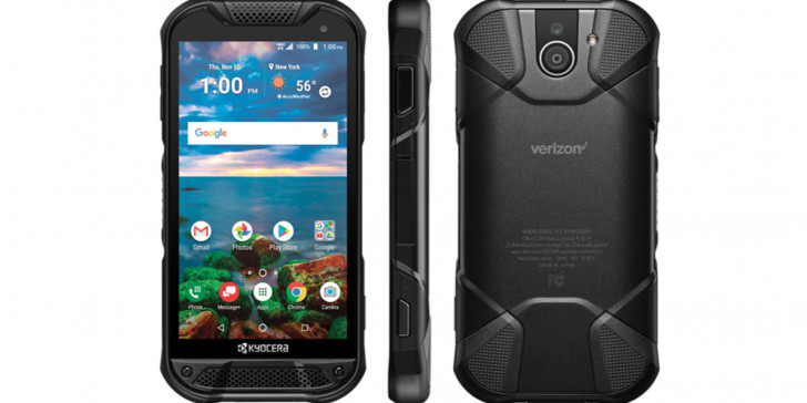 Kyocera's new rugged phone has a sapphire screen and a