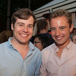Vox Media creative director Rob Bear and Andrew Bear.