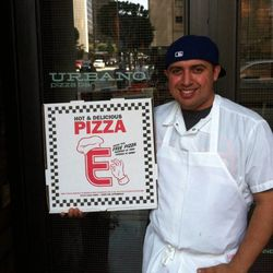 Manny Cisneros chef de cuisine at Urbano Pizza Bar.
