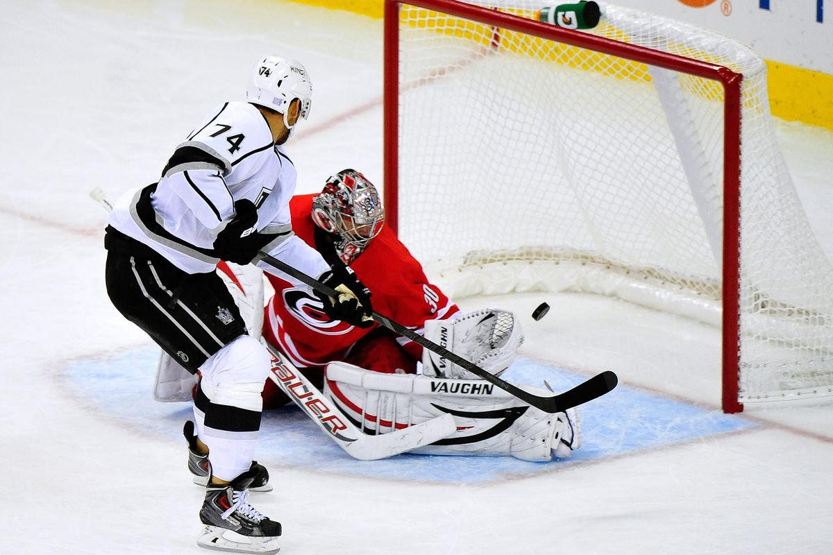 King earns himself a temporary reprieve from blog jokes. Solid all-around effort, nice goal!
