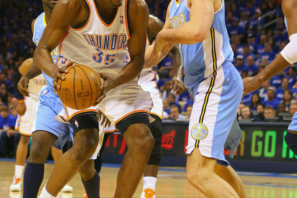 We'll continue to wait to see Kevin Durant vs. Danilo Gallinari.