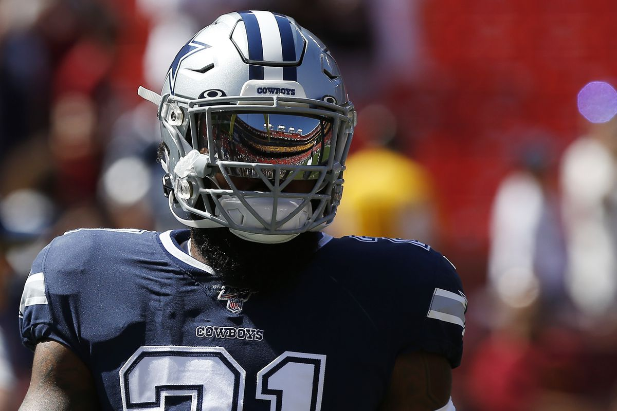 check out fe3bc 80767 WATCH: Cowboys feed Ezekiel Elliott for another touchdown ...