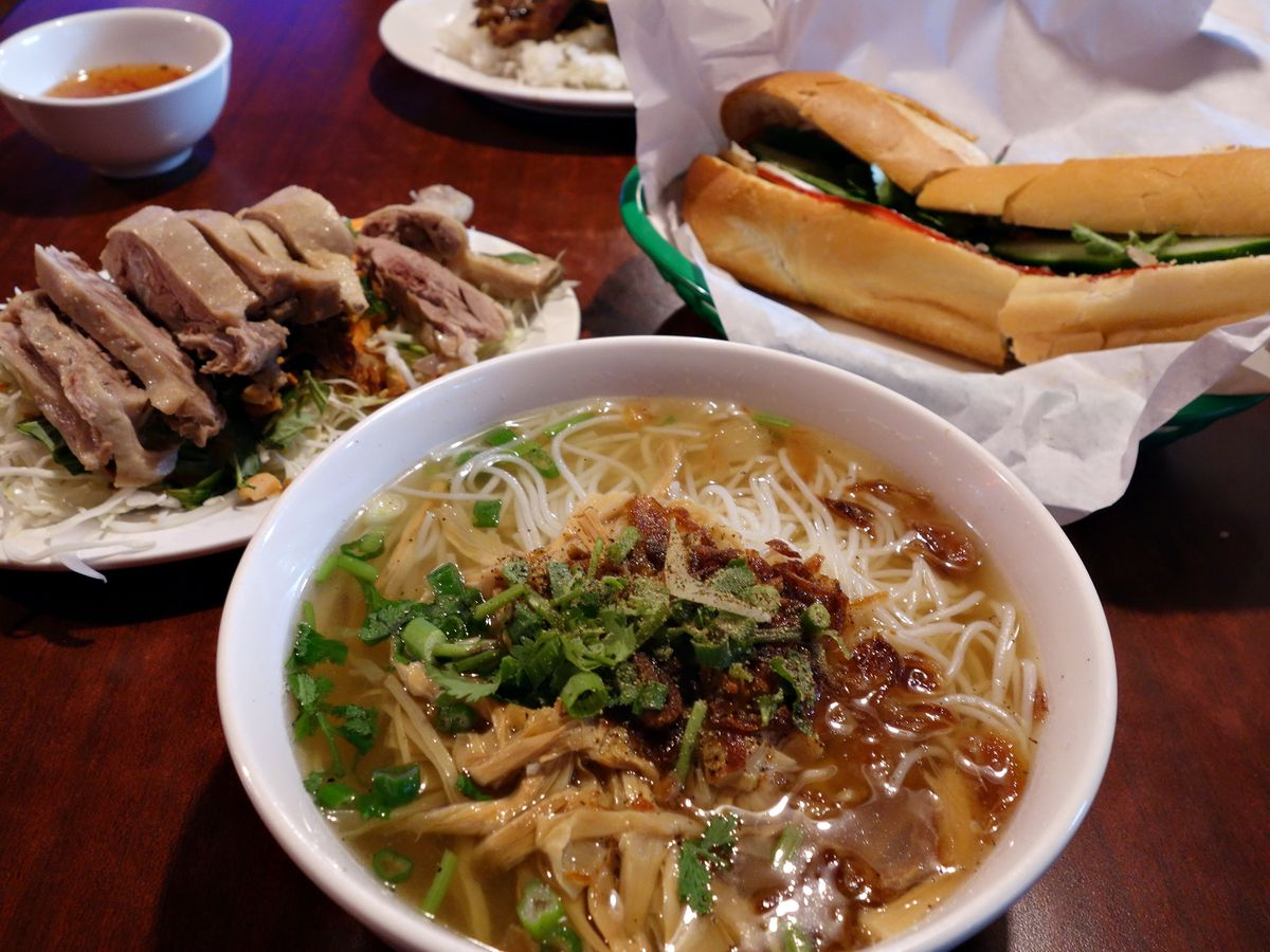The pho and banh mi at Billiard Hoang in South Seattle