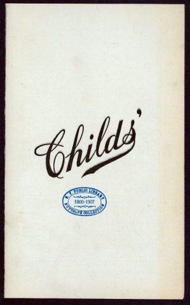 Remembering Childs, a Gem from Coney Island's Golden Age ...