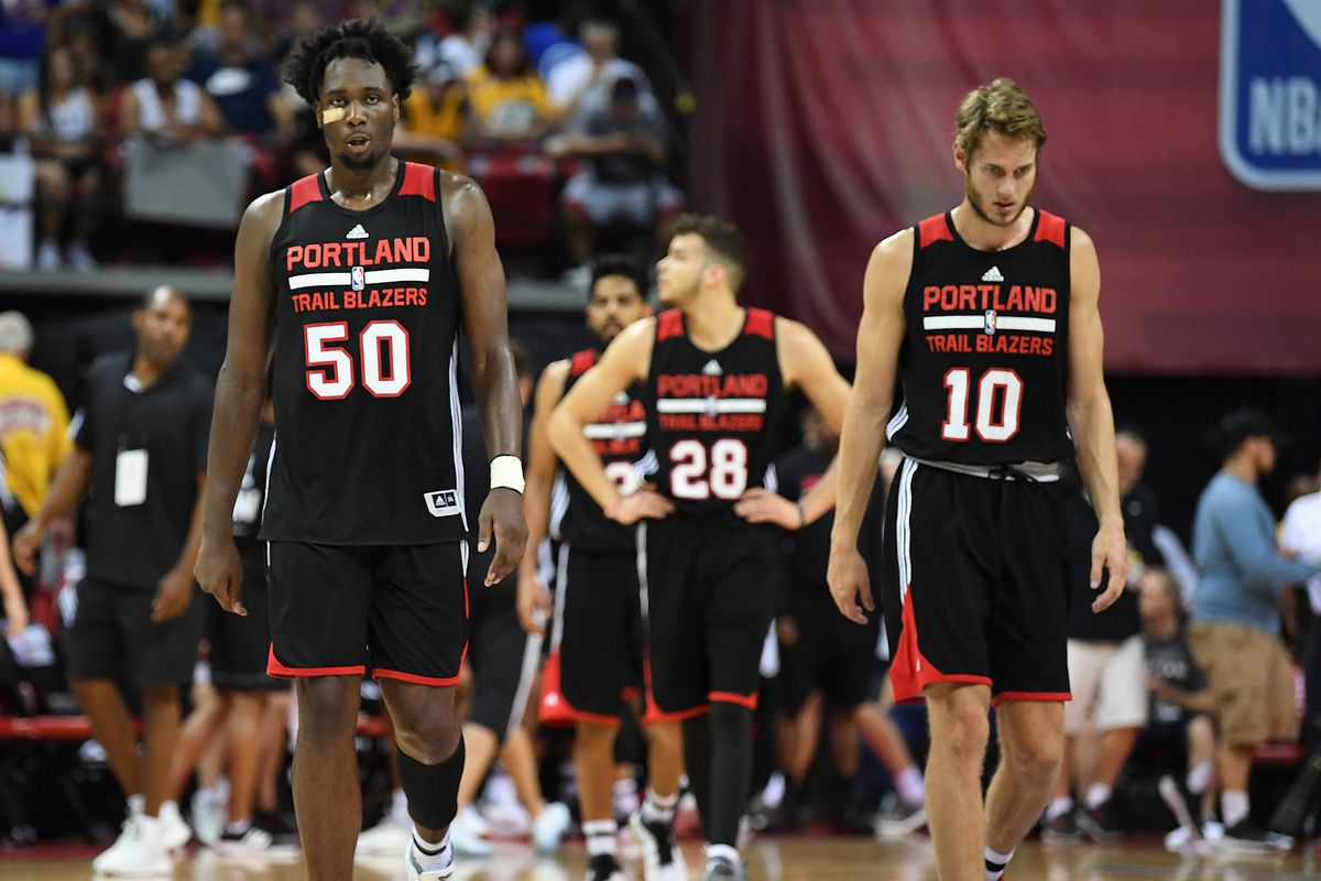 Trail Blazers Swing Big, Fall Hard Against Lakers in NBA Summer ...