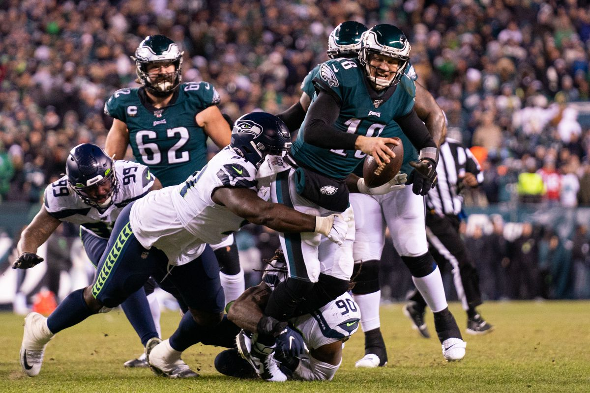 2020 NFL Playoffs: Eagles QB Josh McCown tore his hamstring vs ...