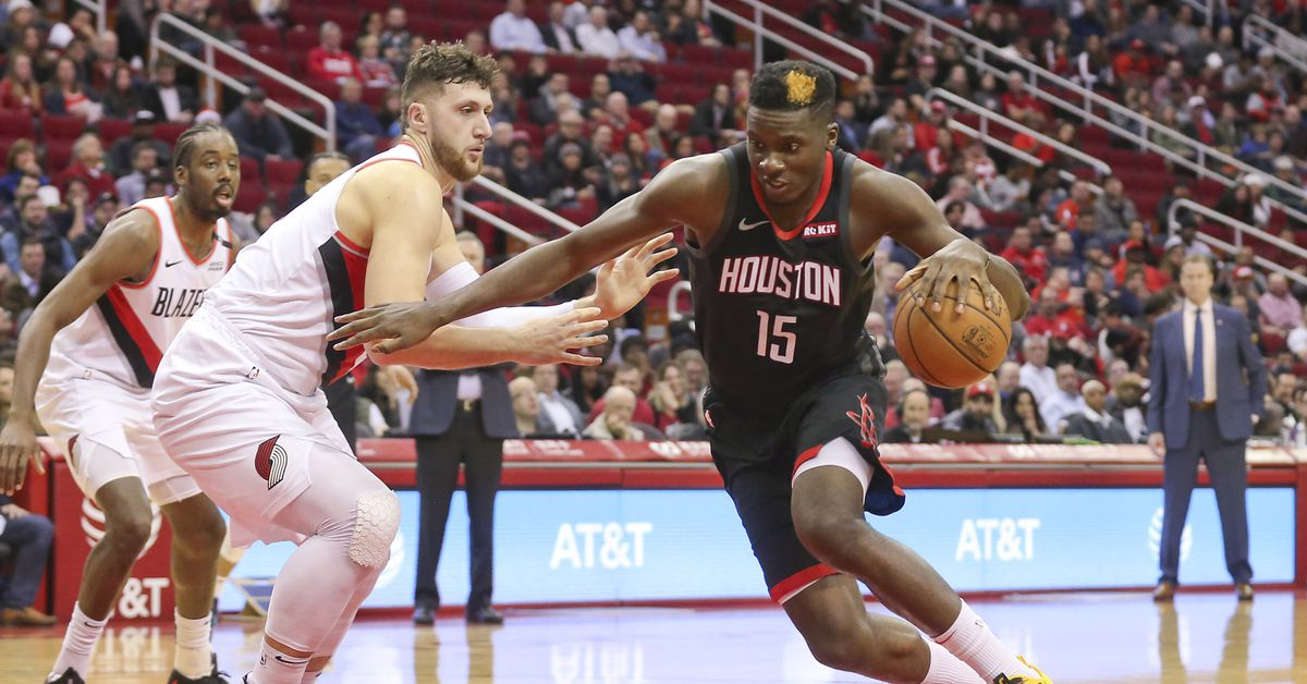 Image Result For Trail Blazers Vs Rockets