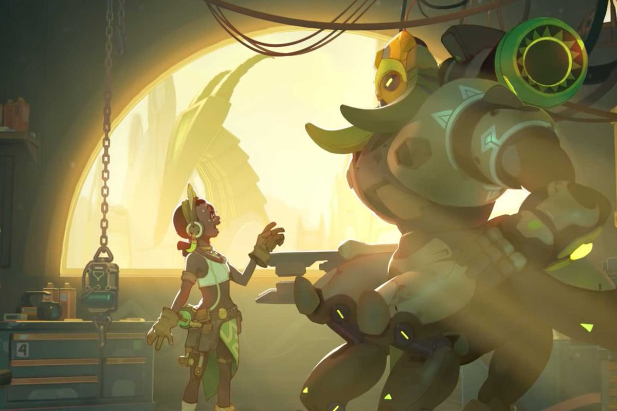 Overwatch Orisa Guide Polygon