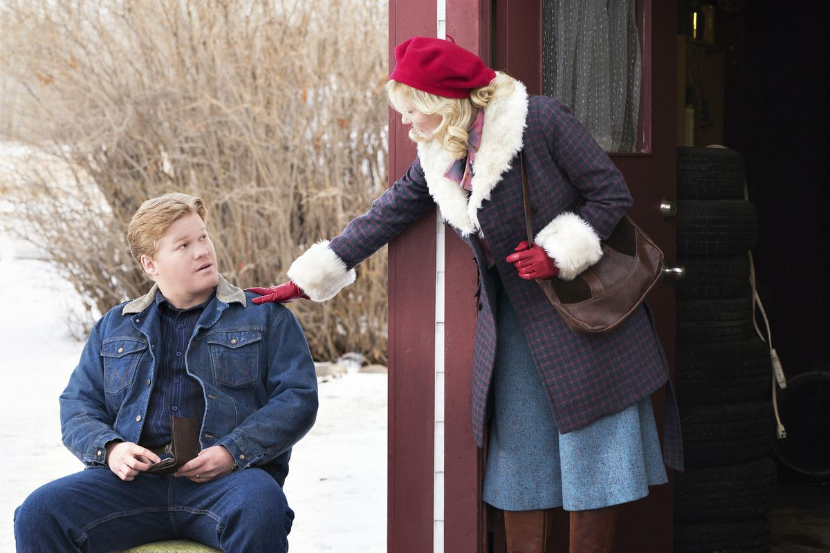 Ed Blomquist (Jesse Plemons) tries to cover up his wife's crime. It's only going to get him (and probably her) in bigger trouble.