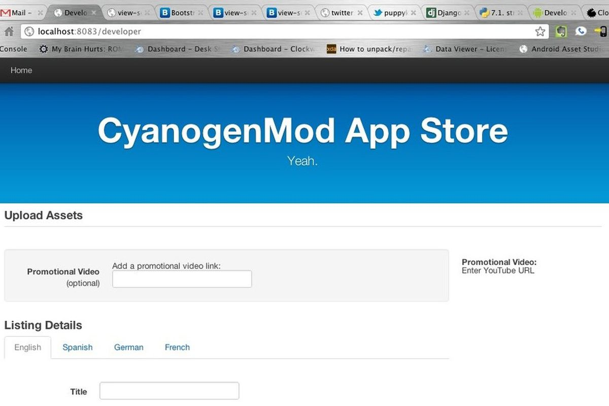 CyanogenMod App Store to sell the apps Android Market won't