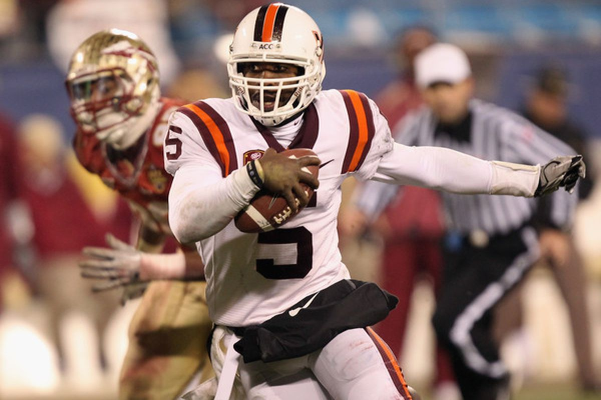 Will Virginia Tech look to take advantage of Tyrod Taylor's wheels against the Cardinal?