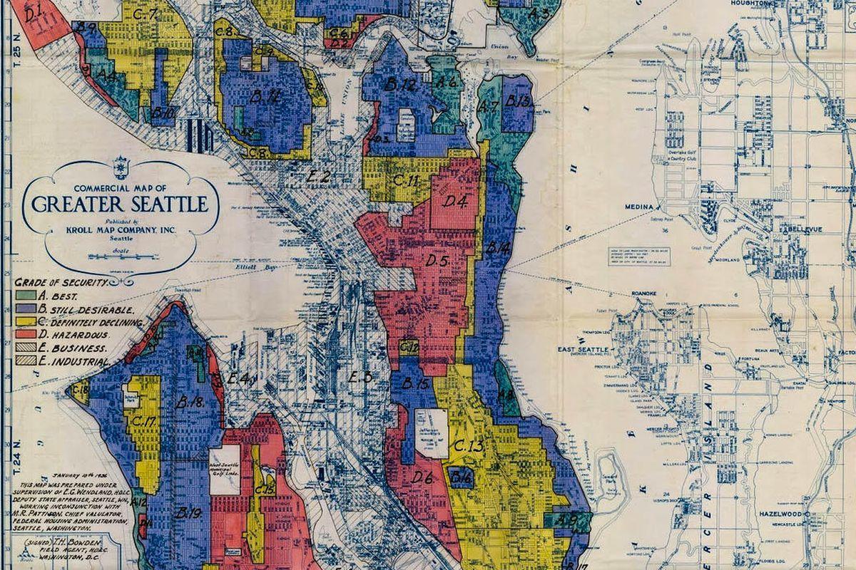 Chinatown Seattle Map on