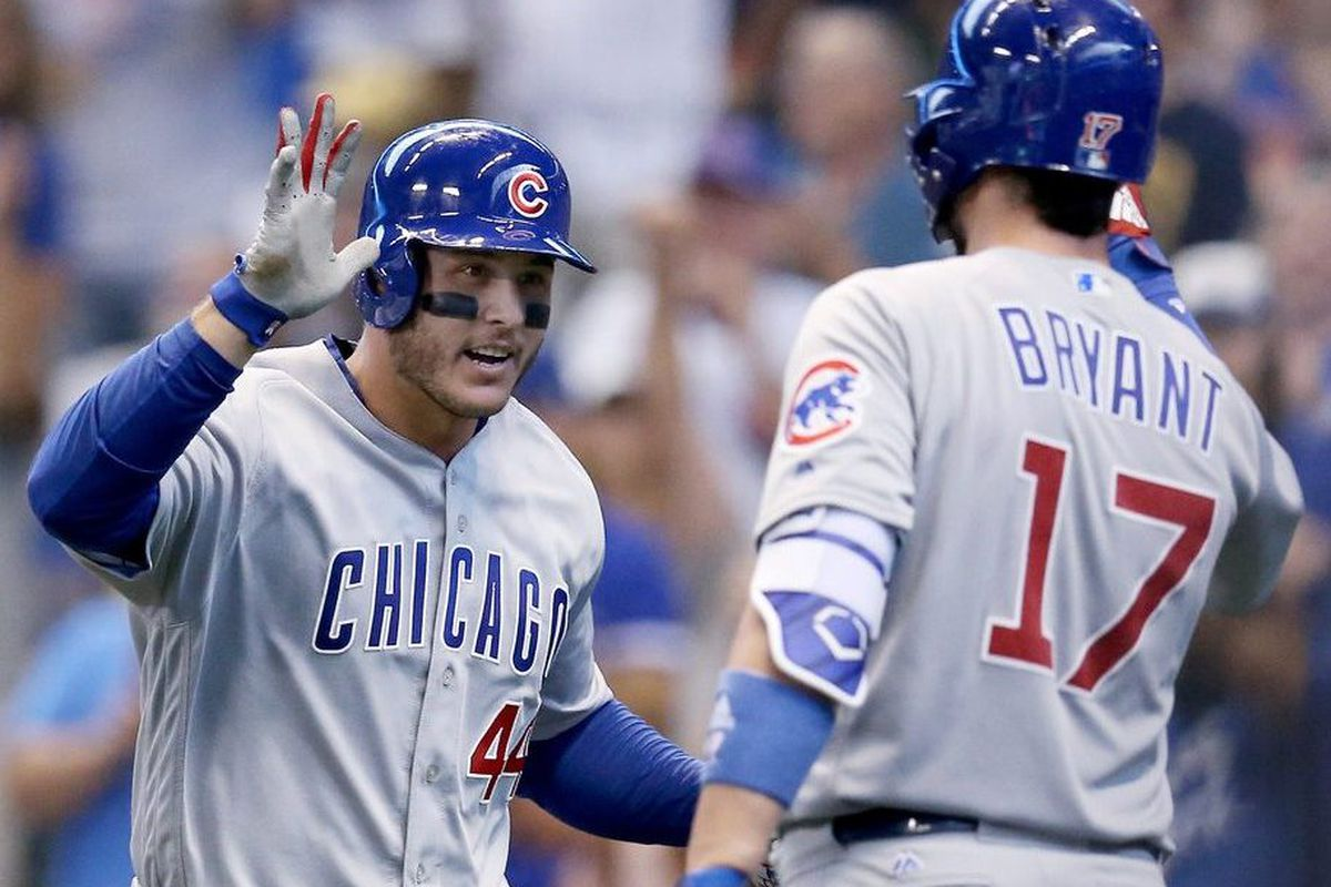 416550719 Anthony Rizzo and Kris Bryant each made MLB s top 100 list.