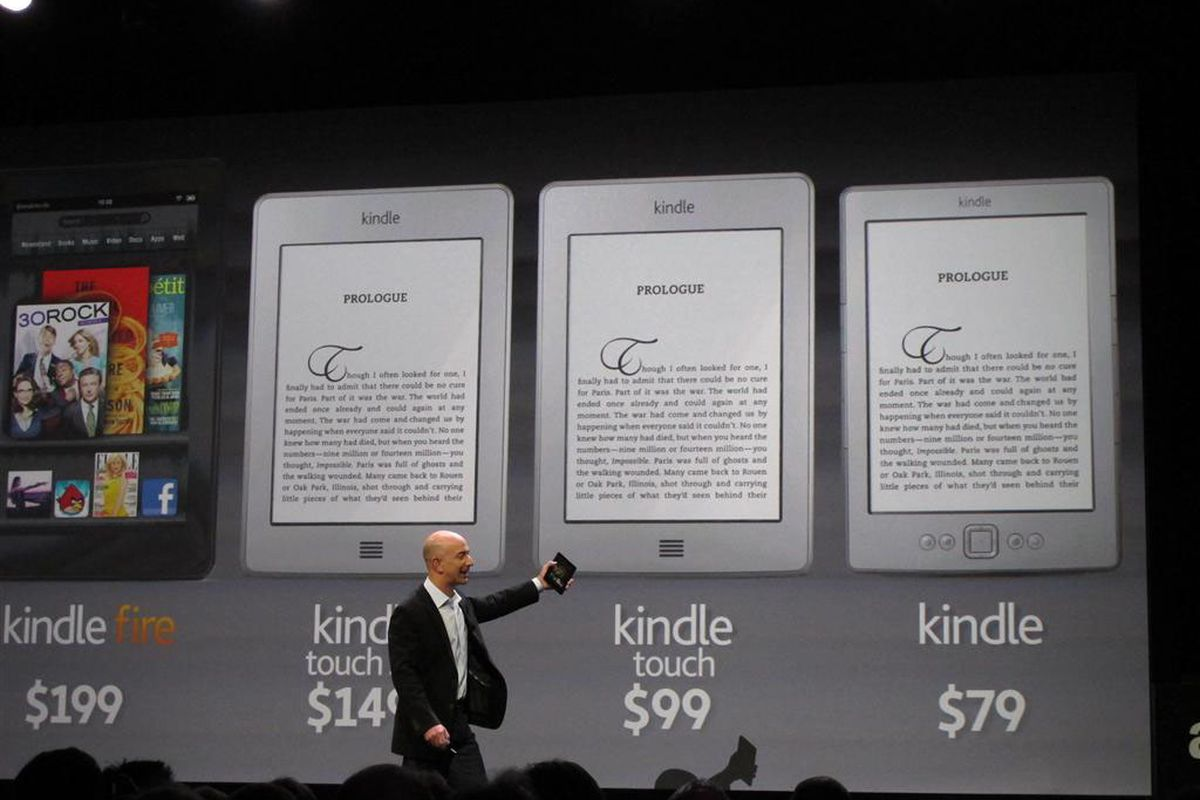 """Image via <a href=""""http://www.pcworld.com/article/240743/amazon_announces_199_kindle_fire_tablet_clutch_of_new_kindle_e_readers.html"""">PC World</a>."""