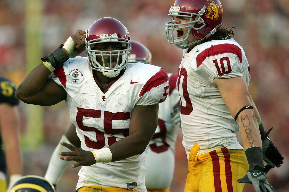 2007 Rose Bowl: USC v Michigan