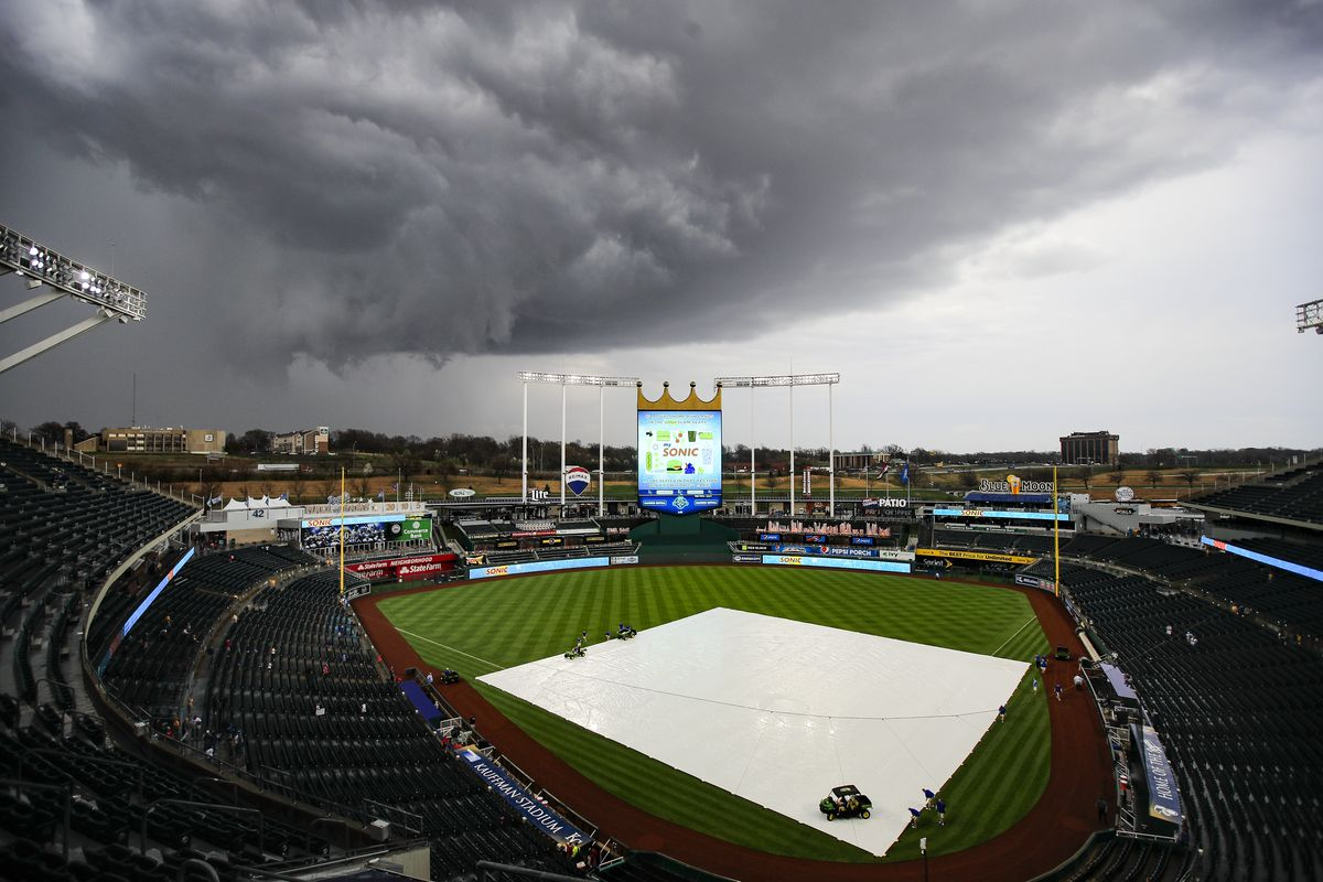 Weather has affected the Royals and the rest of baseball at
