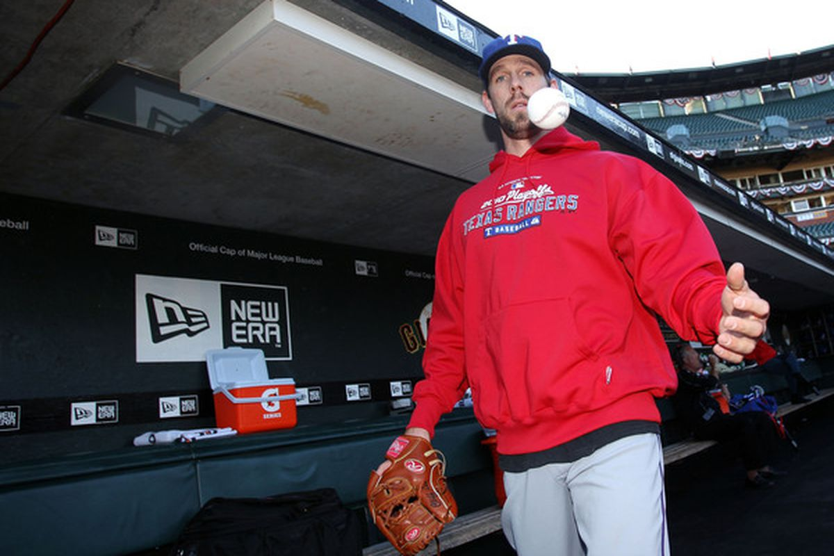 Cliff Lee knows how to levitate balls with his mind.