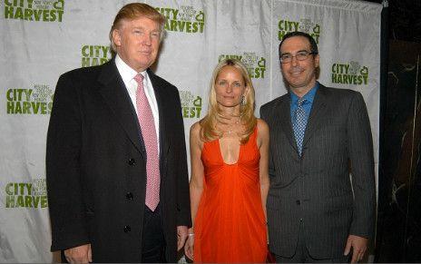 Donald Trump, Heather Mnuchin, Steven Mnuchin